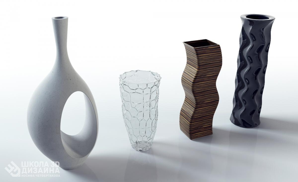 Курс по 3D моделированию вазы