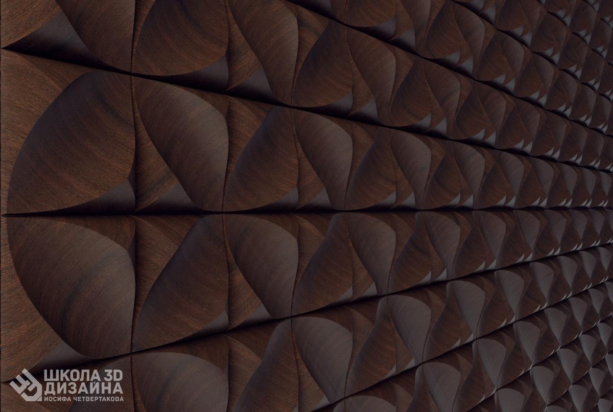 Курс по моделирование современных 3D панелей