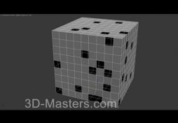 Модификатор Cap Holes в 3Ds MAX