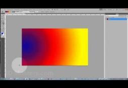 Инструмент градиент в Adobe Photoshop CS5