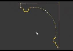 Создать сплайн 3D Max. Section в 3D Max