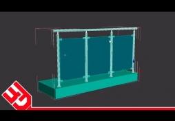 Балкон в 3D Max
