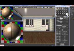 Визуализация интерьеров в 3D Max