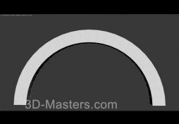 Модификатор Bend в 3Ds MAX