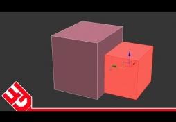 Объединить объекты в 3D Max