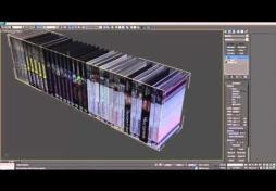 Моделирование книги в 3ds max