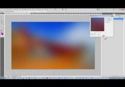 Фильтр размытия в Adobe Photoshop CS5