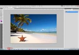 Строка состояния изображения в Adobe Photoshop CS5