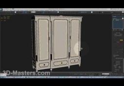 Модификатор Symmetry (симетрия) в 3Ds MAX